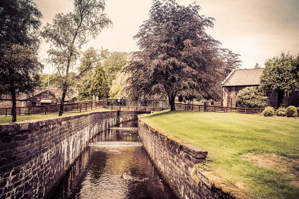 The Kinnaird Burn runs through Blair Athol Distillery