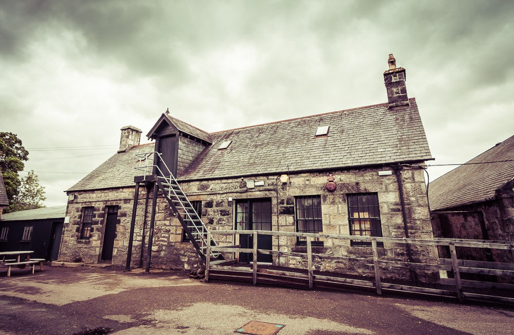 Clynelish Brora distillery office