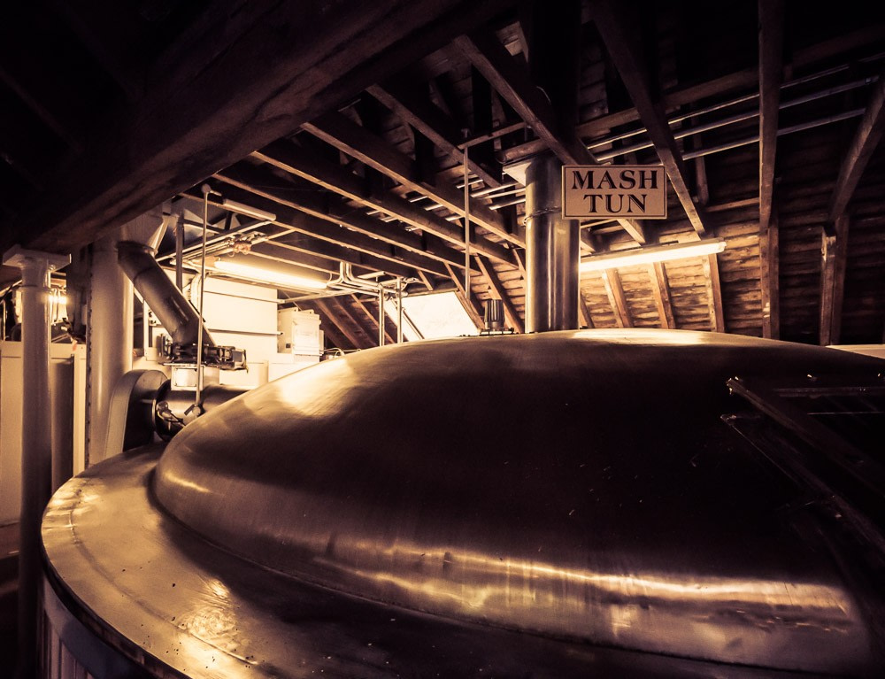 Steel Mash Tun at Blair Athol Distillery