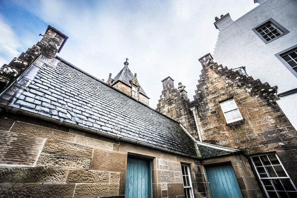 Islay House Servants Quarters and Maintenance Rooms